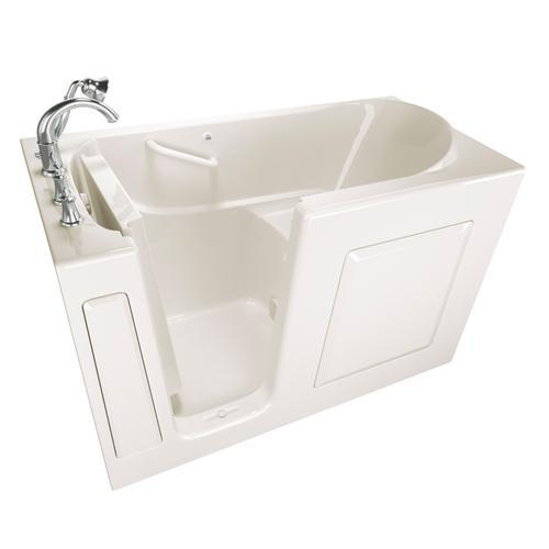 Gelcoat Value Series 30 x 60 Inch Walk-in Bathtub  Left Drain  American Standard - Linen