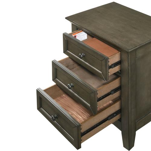 San Mateo Nightstand  Gray