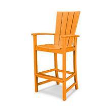 View Product - Quattro Adirondack Bar Chair in Tangerine