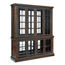 See Details - Roddinton - Dark Brown 2 Piece Dining Room Set