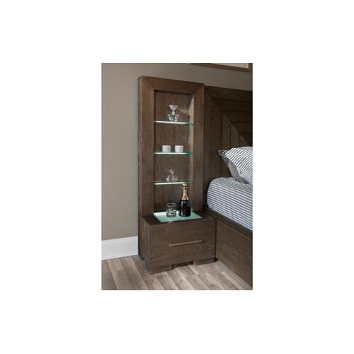Facets Complete Wall Panel Bed, CA King 6/0