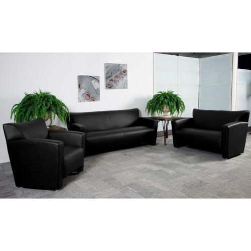 Alamont Furniture - Reception Set in Black