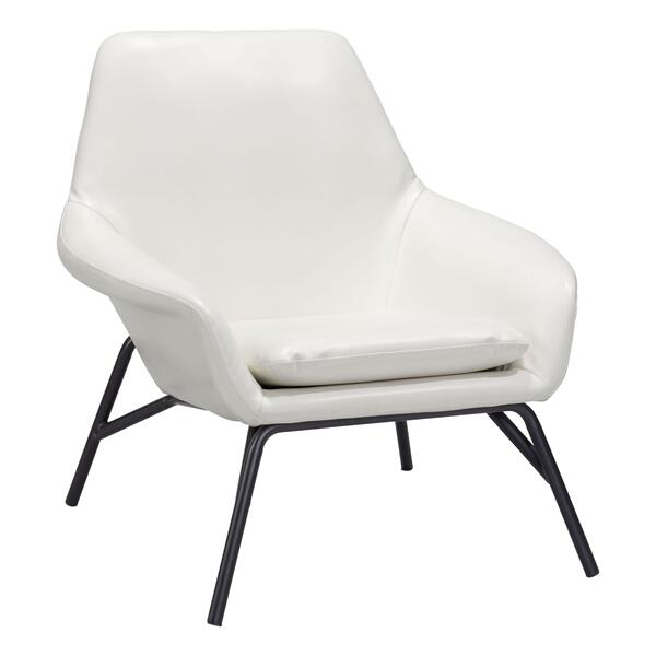 See Details - Javier Accent Chair White