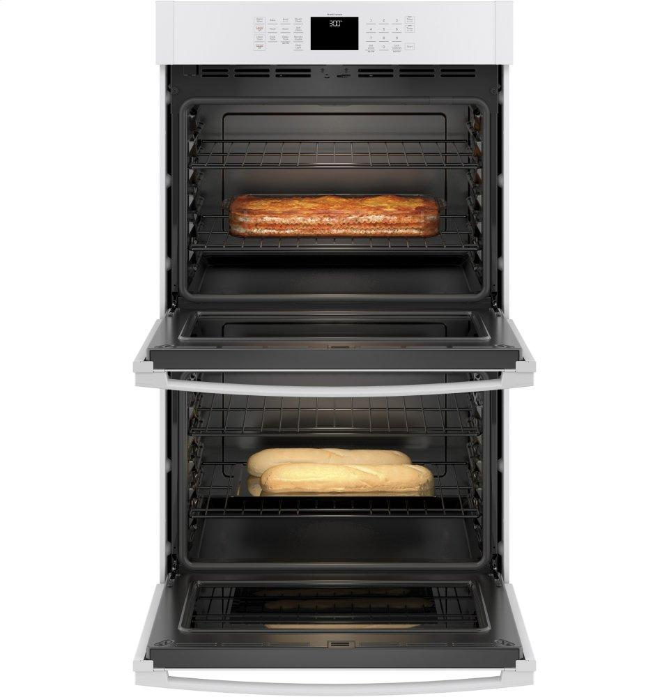 """GE® 30"""" Smart Built-In Self-Clean Double Wall Oven with Never-Scrub Racks Photo #4"""