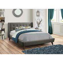 Carrington Grey Upholstered California King Bed