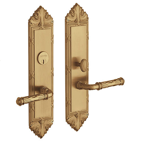 Vintage Brass Fenwick Entrance Trim