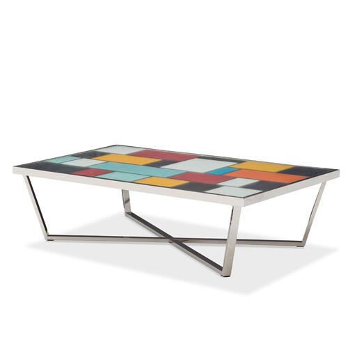Amini - Kube Retangular Cocktail Table