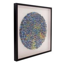 View Product - Toy Soldier Mandala Recycled Wall Art