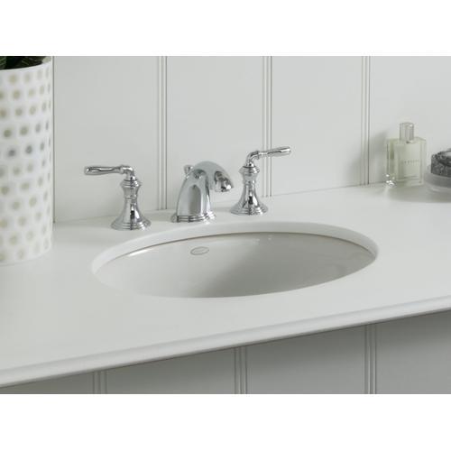 """Almond 17"""" X 14"""" Undermount Bathroom Sink With Center Drain"""