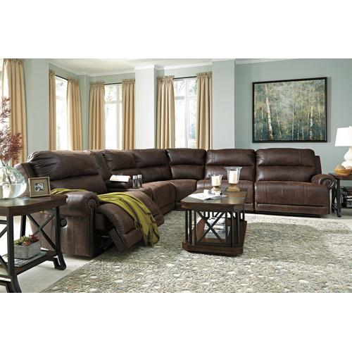 Luttrell 7-piece Power Reclining Sectional