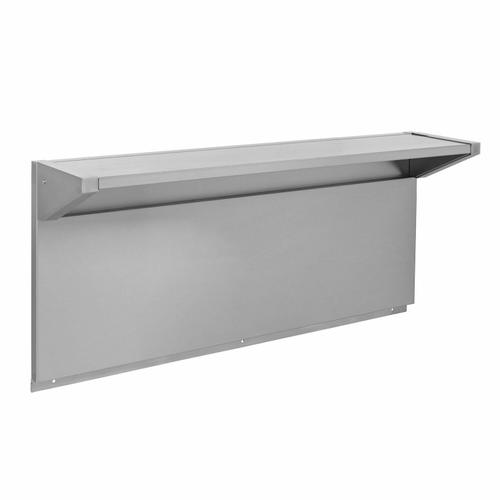 """KitchenAid - Tall Backguard with Dual Position Shelf - for 48"""" Range or Cooktop - Other"""