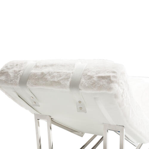 Astro Faux Fur Chaise
