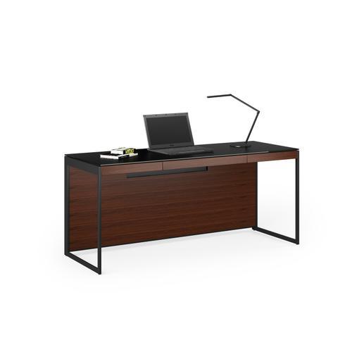 BDI Furniture - Sequel 20 6101 Desk in Chocolate Walnut Black