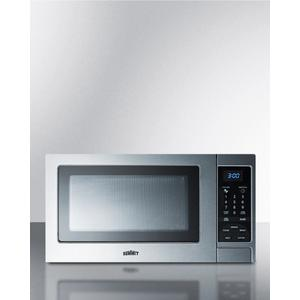Stainless Steel Microwave Oven With Digital Touch Controls; Replaces Scm852 Product Image