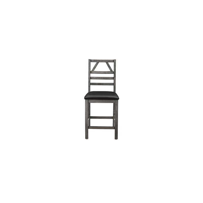 Counter Chair (2/Ctn) - Graystone Finish