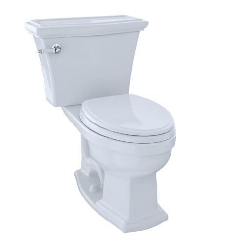 Product Image - Eco Clayton® Two-Piece Toilet, 1.28 GPF, Elongated Bowl - Cotton