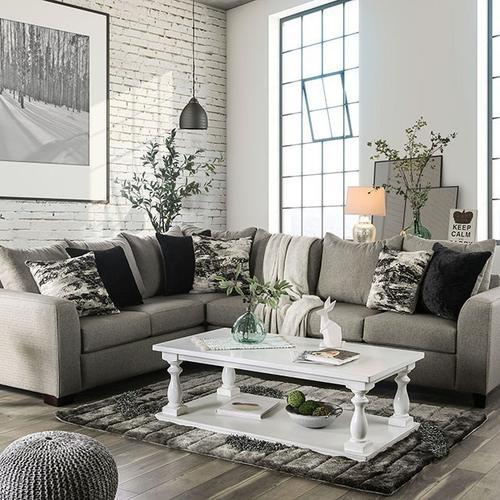 Furniture of America - Sectional Barnett