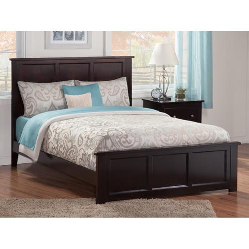 Atlantic Furniture - Madison Queen Bed with Matching Foot Board in Espresso
