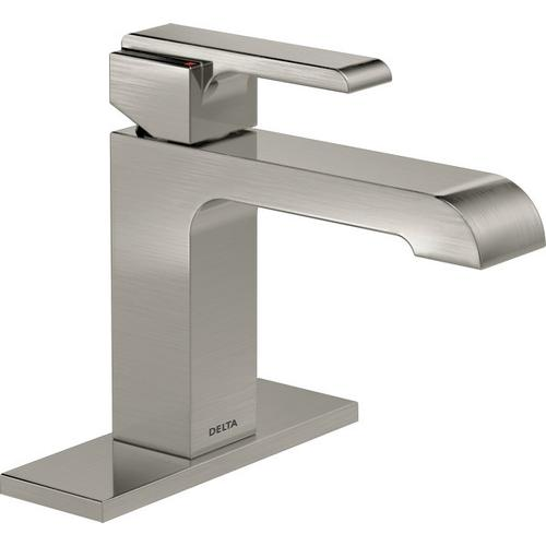 Stainless Single Handle Tract-Pack Bathroom Faucet