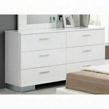 ACME Lorimar Dresser - 22635 - White & Chrome Leg