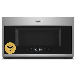 1.9 cu. ft. Smart Over-the-Range Microwave with Scan-to-Cook technology - FINGERPRINT RESISTANT STAINLESS STEEL