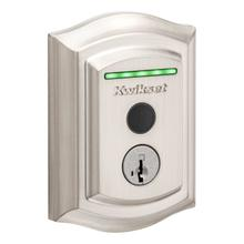 View Product - Halo Touch Traditional Fingerprint Wi-Fi Enabled Smart Lock - Satin Nickel