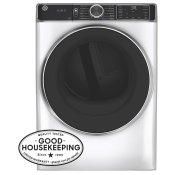 7.8 cu. ft. Capacity Smart Front Load Electric Dryer with Steam and Sanitize Cycle