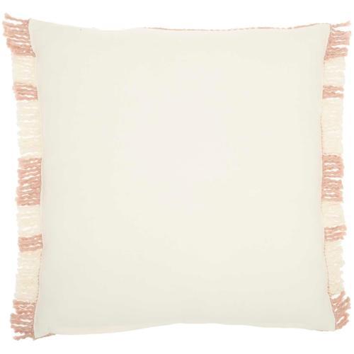 """Kathy Ireland Pillow Sh300 Blush 20"""" X 20"""" Throw Pillow"""