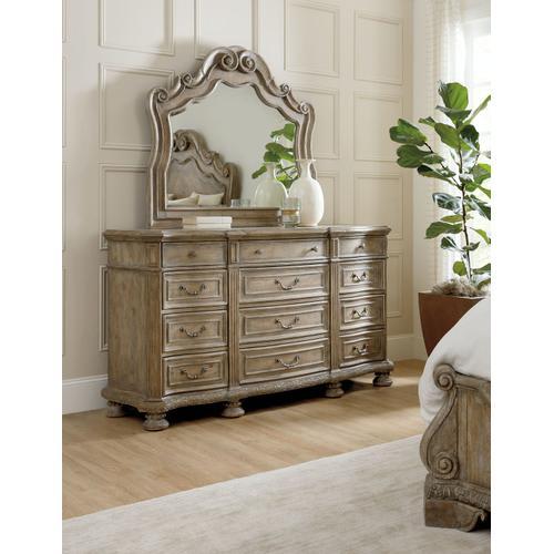 Bedroom Castella Twelve Drawer Dresser