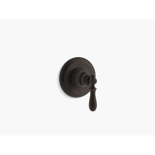 Kohler - Oil-rubbed Bronze Volume Control Valve Trim With Swing Lever Handle
