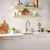 Beale Pull-Down Kitchen Faucet - Stainless Steel