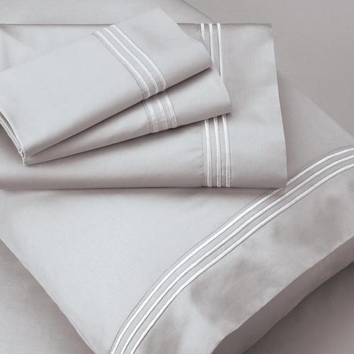 Supima® Cotton Sheet Set - Dove Gray / King