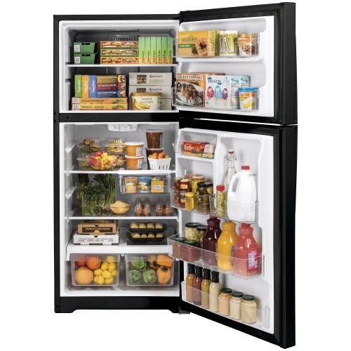 GE Appliances - GE® 19.2 Cu. Ft. Top-Freezer Refrigerator