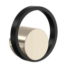 See Details - Eclissi Kitchen Faucet Handle - Satin Nickel and Matte Black
