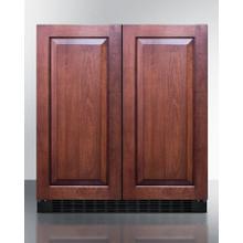 "See Details - 30"" Wide Built-in Refrigerator-freezer"