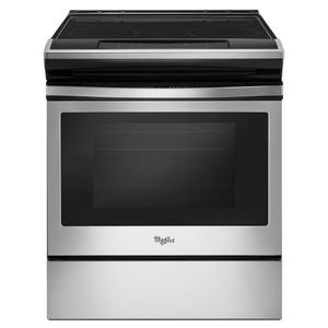 Whirlpool4.8 cu. ft. Guided Electric Front Control Range With The Easy-Wipe Ceramic Glass Cooktop