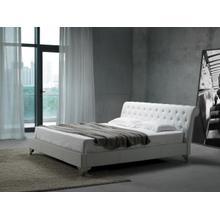 See Details - Modrest San Remo Leatherette Modern Bed