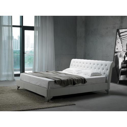 VIG Furniture - Modrest San Remo Leatherette Modern Bed