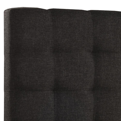 Bergen King Headboard Only, Onyx Linen