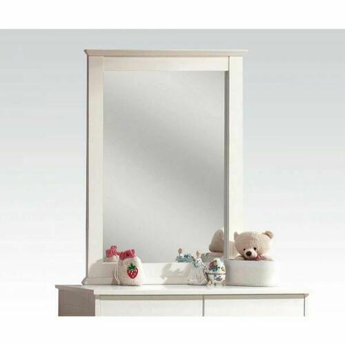 ACME Bungalow Mirror - 30040 - White