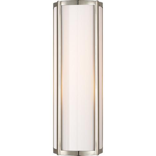 Visual Comfort - Alexa Hampton Basil 1 Light 6 inch Polished Nickel Bath Wall Light