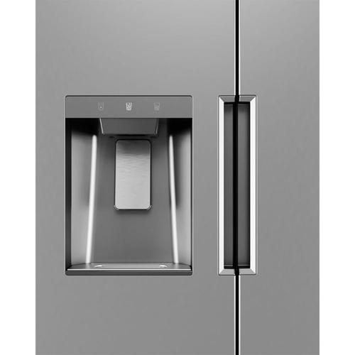 Midea - 26.3 Cu. Ft. Side-by-Side Refrigerator