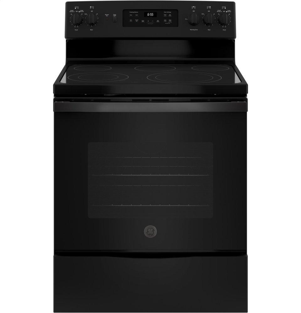 "GE30"" Free-Standing Electric Convection Range"
