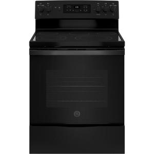 "GE  ®30"" Free-Standing Electric Convection Range"