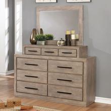 See Details - Oakburn Dresser W/ Jewelry Box