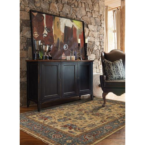 Charise-Keshan Champagne Hand Knotted Rugs (Custom)