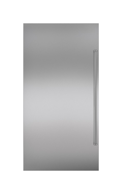 SubzeroStainless Steel Flush Inset Door Panel With Pro Handle
