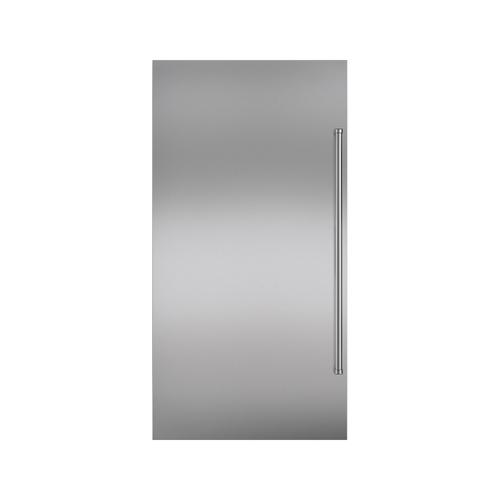 Stainless Steel Flush Inset Door Panel with Pro Handle
