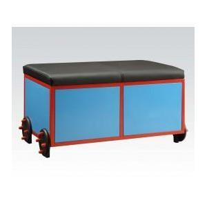 Acme Furniture Inc - Blue/bk Train Bench