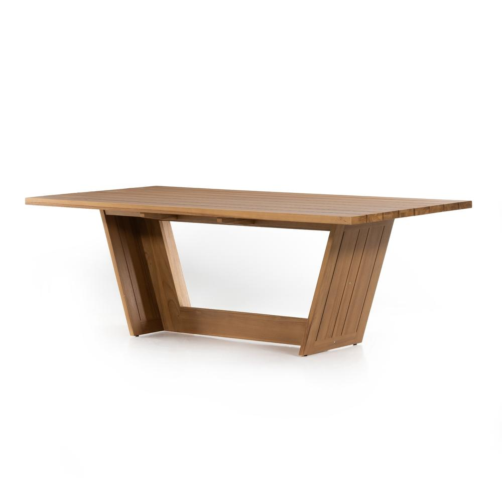 """See Details - Warwick Outdoor Dining Table-87""""-natural"""